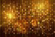 Goldener reflektierender Disco Hintergrund