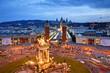 Leinwanddruck Bild - Barcelona