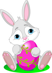 Easter Bunny with Easter Egg