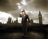 English gentleman poster