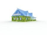 eco house metaphor poster