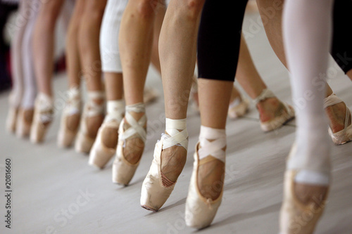 Plexiglas Dance School bailarinas