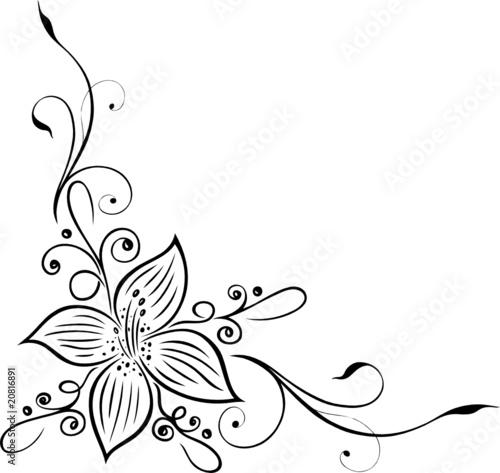 gamesageddon blumen blumenranke filigran floral lizenzfreie fotos vektoren und videos. Black Bedroom Furniture Sets. Home Design Ideas