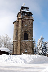 Aussichtsturm Auersberg Erzgebirge