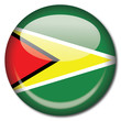 chapa bandera Guyana