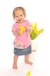 baby flower lover