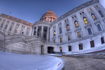 High Dynamic Range (HDR) image of Wisconsin State Capitol