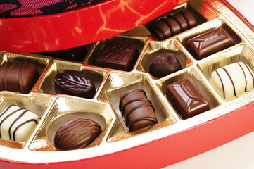 Valentine's chocolate gift box