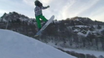 Saut Surf ralenti HD 2