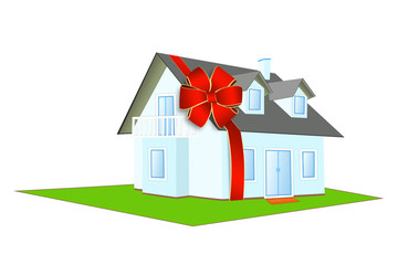 House in a gift