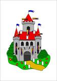 Fairytale castle poster
