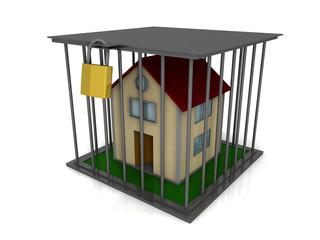 Casa in gabbia