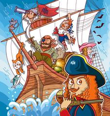 海賊船!!