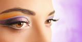violet eyeshadow poster