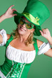 St Patrick's Day Woman