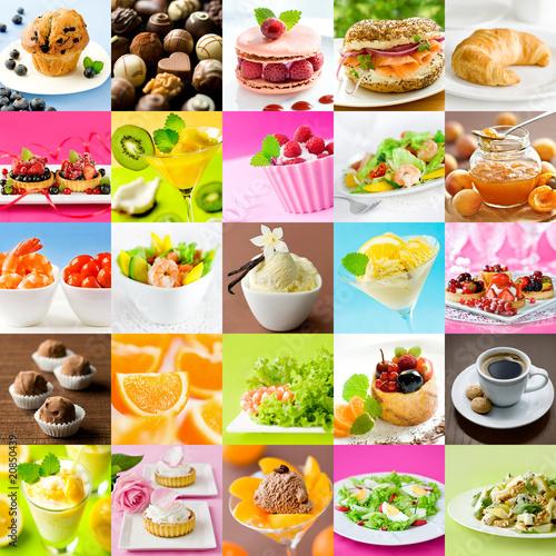 Beautiful food collage 8