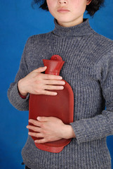 a hot-water bottle