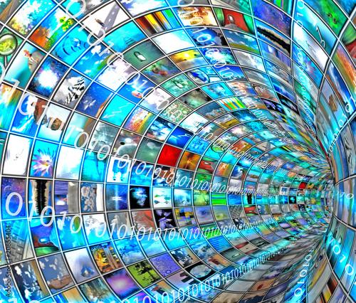 Media Tunnel with Binary
