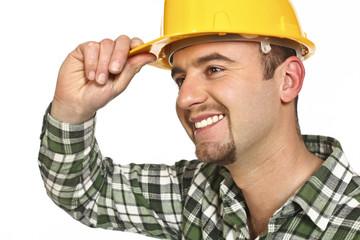friendly manual worker