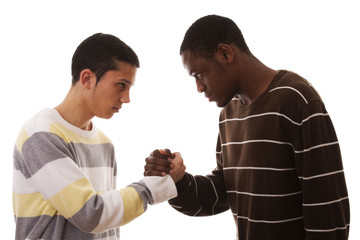 multiracial confrontation
