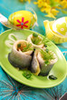 herring rolls in  for easter