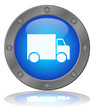 DELIVERY Web Button (Express Free Service Transport Home Truck)