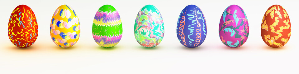 Uova colorate - Easter eggs