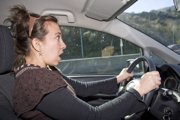 Shocked driving