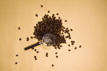 Coffee magnifier