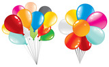 party colorful ballons set