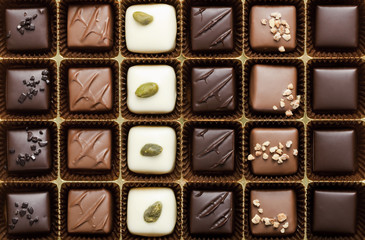 Box of the finest chocolate
