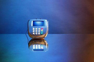 Your message here reward-debit-credit card reader