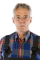 Senior working man