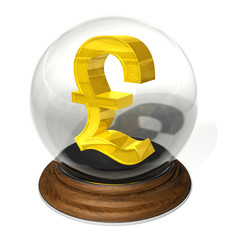 crystal ball pound forecast