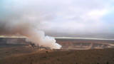Hot Steam Energy From Volcanic Crater