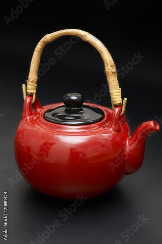 Plakat Red chine teapot