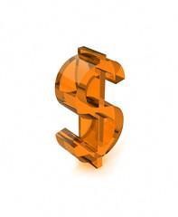 glass dollar icon