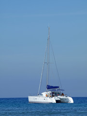 Catamaran in Morro Jable