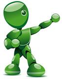 Robot e-learning poster