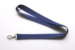 Leinwandbild Motiv Schlüsselband blau