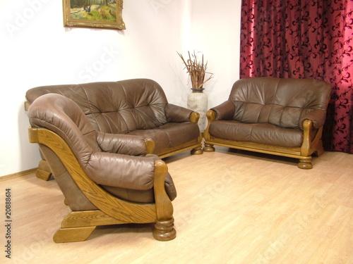 ledergarnitur eiche rustikal 3 2 1 stockfotos und lizenzfreie bilder auf bild. Black Bedroom Furniture Sets. Home Design Ideas