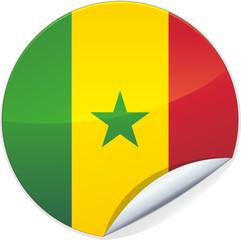 Sticker du Sénégal (détouré)