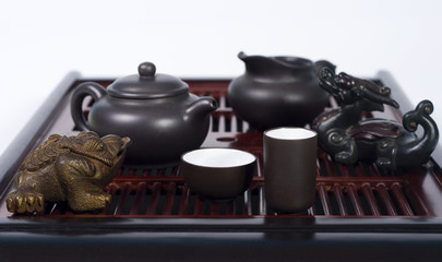 set for chinese tea ceremony