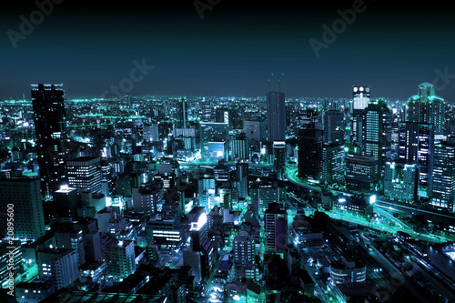 Urban City by Night|20895600