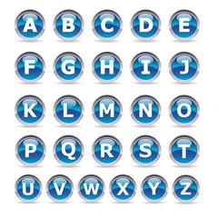 Alphabet logo design - Picto lettres