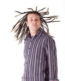 Man with Dreadlocks poster