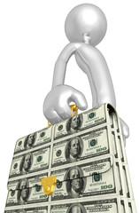 Money Briefcase