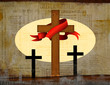 The Crucifixion Of Jesus Cross Background