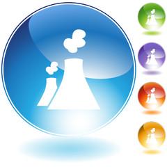 Nuclear Powerplant Icon