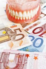Dental costs - concept